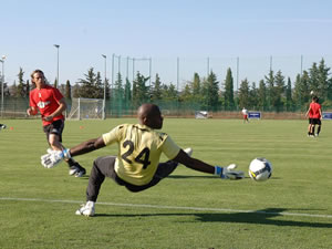 Sports breaks and professional football training in Marbella, Spain