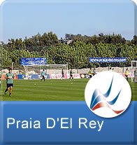 Praia D'el Rey Professional Football Training Centre in Portugal